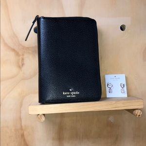 KATE SPADE GRAND STREET LEATHER PLANNER